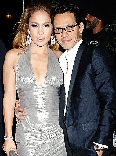Дженифер Лопес и ее муж Марк Энтони прожили в браке 7 лет. Фото DailyMail.