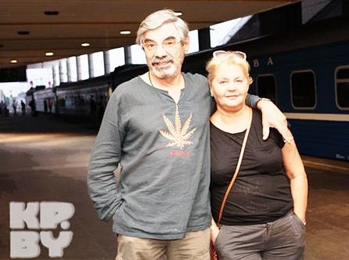 В Минск Панкратов-Черный приезжал со своей супругой Юлией Владимировной. Фото Елены Зуевой.