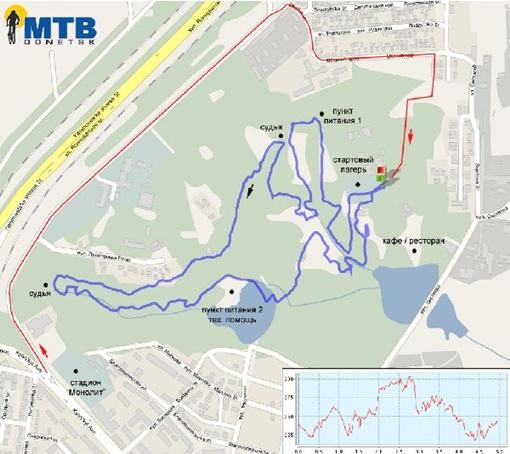 Карта маршрута. Фото: клуб