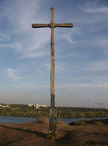 Крест убрали без благословения.