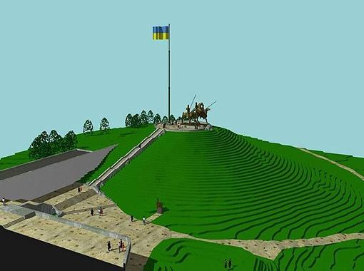 Проект будущего рекордного сооружения, ради которого и снесли православную святыню.