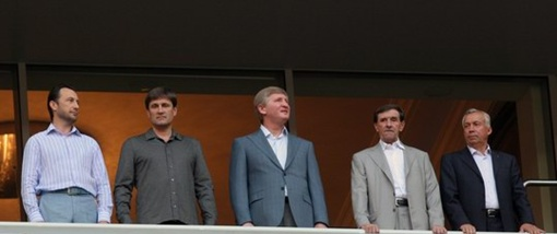 Андрей Федорук (крайний слева). Фото: Остров.