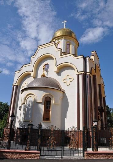 состоялось открытие храма святого апостола Андрея Первозванного. Фото: Остров.
