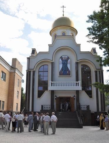 Место под строительство храма было освящено 13 октября 2007 года. Фото: Остров.