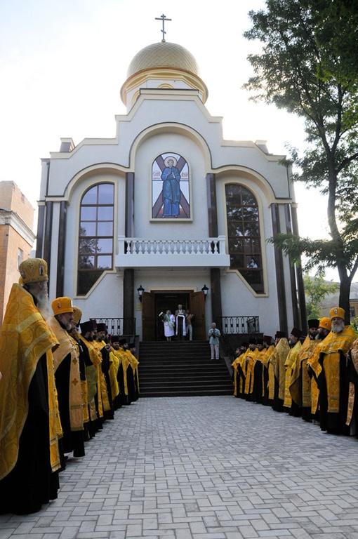 Церковь в честь святого апостола Андрея Первозванного. Фото: КП.