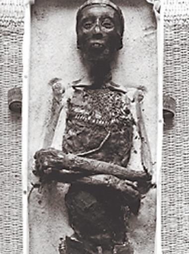 Таким предстал Тутанхамон, лишенный покровов.