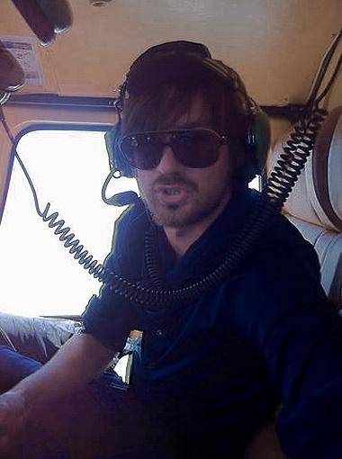 Также Артем рассказал, что на Лазурке из города в город добирался на воздушном такси.