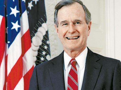 Джордж Буш-старший.