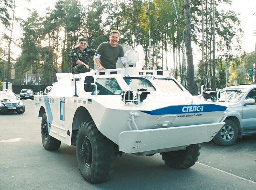 На такой тачке никакие пробки не страшны! Фото предоставлено пресс-службой А. Пономарева.