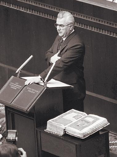 Уже 5 декабря 1991 года состоялась инаугурация первого президента Украины. Фото УНИАН.