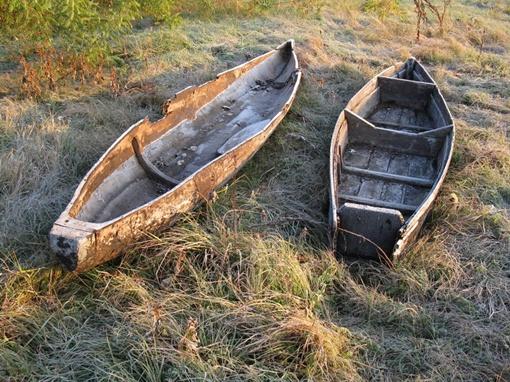 Такие лодки были популярны у казаков