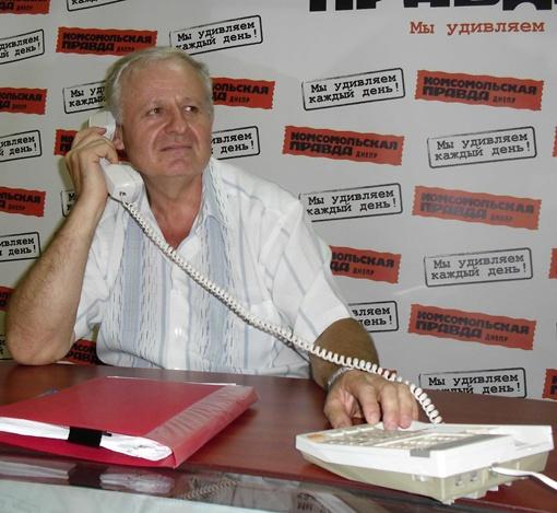 Иван Семенович Леводянский - начальник отдела вокзалов Приднепровской железной дороги.