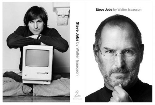 Обложка книги Steve Jobs: A Biography, изображение с сайта Barnes & Noble
