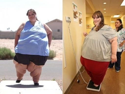 Самая большая в мире женщина. Фото с сайта Daily Mail.