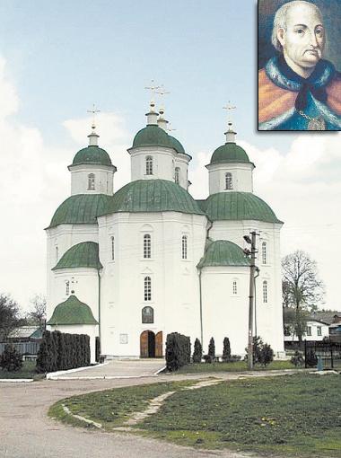 Древний Спасо-Преображенский собор в Прилуках действует до сих пор. Гетман Иван Скоропадский.