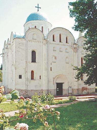 Борисоглебский собор в Чернигове.