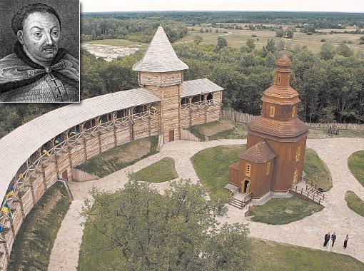 Цитадель польских королей и украинских гетманов отстроили пару лет назад. Гетман Иван Самойлович.