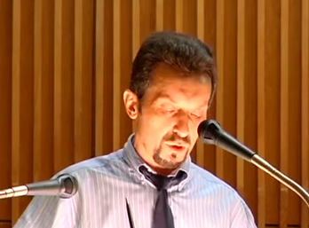 Депутат-юморист. Скриншот с видео.