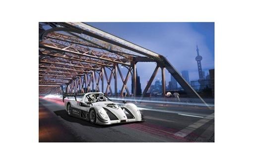 Фото Toyota Motorsport GmbH. Болид Toyota для заезда на Нюрбургринге.