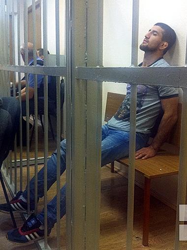 В субботу в Москве проходит суд на спортсменом. Фото Рината Низамова.