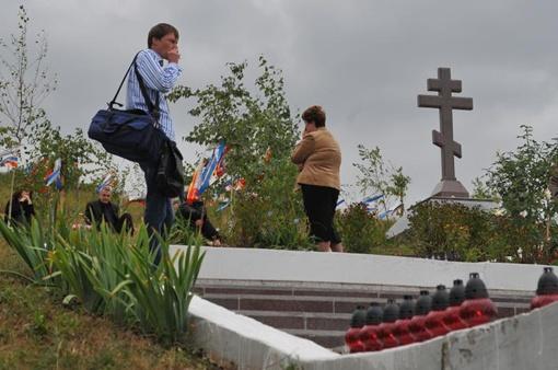 Мемориал в память о трагедии.