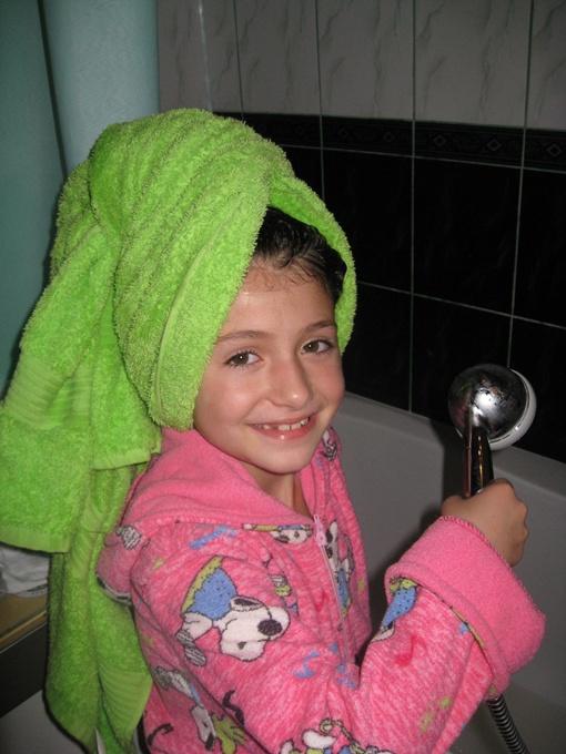 - Никогда не знаешь, когда в следующий раз удастся принять душ. Фото из архива