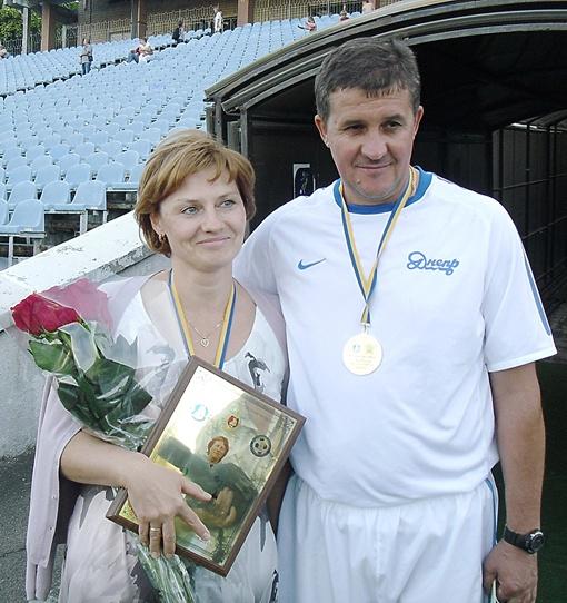 Дочь Кучеревского Ирина и Евгений Яровенко