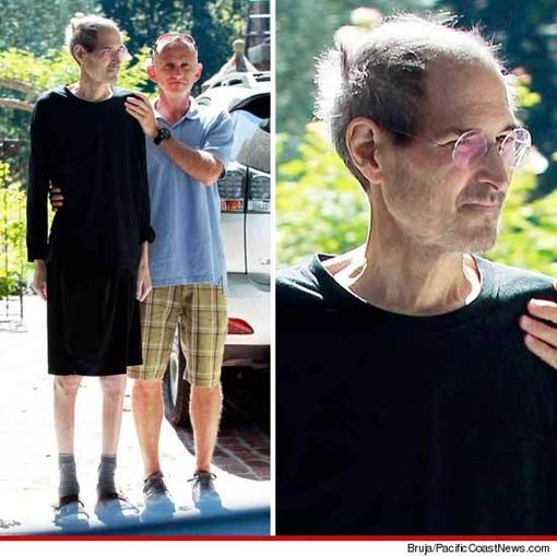 Джобс все же борется с болезнью. Фото с сайта tmz.com