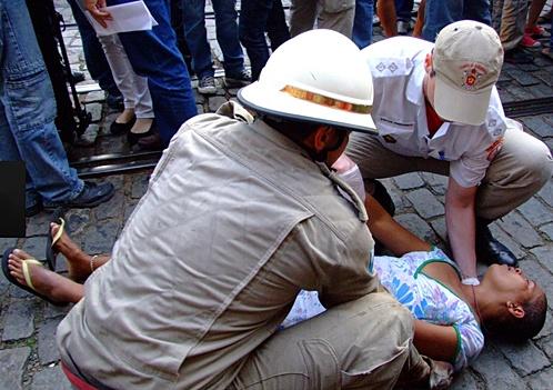 В Общей сложности пострадали 53 человека. Фото: globo.com