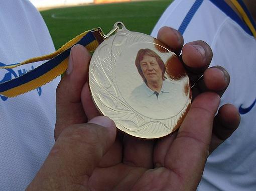 Всем участникам вручили памятные медали с изображением Кучеревского.