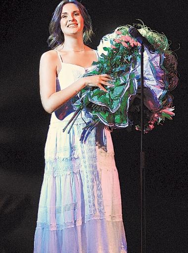 Во время выступления Милы плакал весь зал. Фото предоставлено каналом