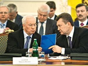 Где отметят Новый год Янукович и Азаров