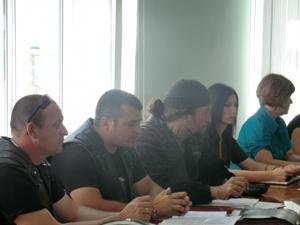 В Севастополе проходило совещание по байк-шоу. Фото пресс-службы МЧС.