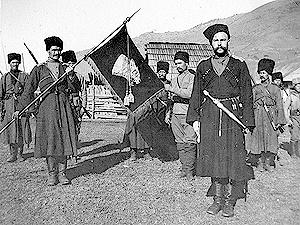 Кубанцы в Первую мировую войну. Фото с сайта сossak.wikia.com.