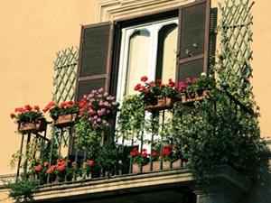 В Киеве украсят балконы