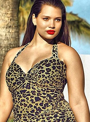 Тара снялась в рекламе новой летней коллекции нижнего белья, купальников и пляжной одежды H&M. Фото Daily Mail.