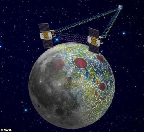 Летая тандемом, спутники будут составлять гравитационную карту.
