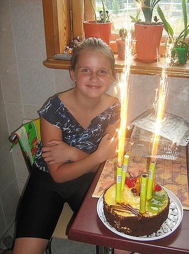 Журавкова Влада, 10 лет, день рождения 26 июня. Город Днепропетровск.