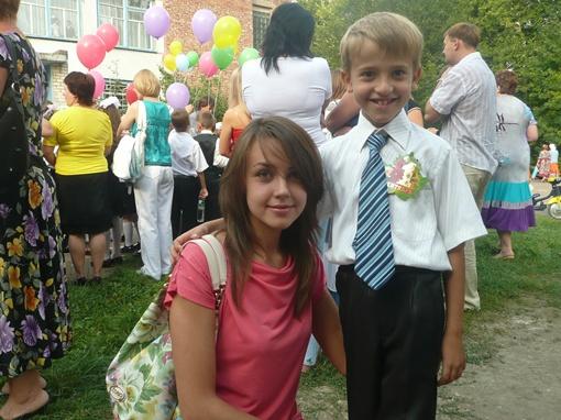 Дончанка Юлия с сыном Владиком. Фото: Влад Беспалов.