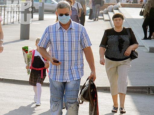 В аптеках возле вокзала раскупили все маски! Фото Валерия Звонарева.