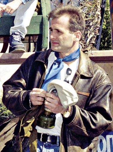 Журналист Георгий Гонгадзе был убит 16 сентября 2000 года сотрудниками Департамента наружного наблюдения МВД. Фото УНИАН.