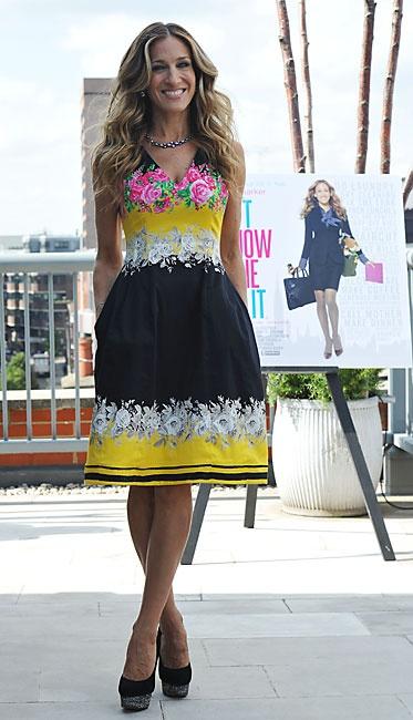 Платье от Сары Джессики Паркер.