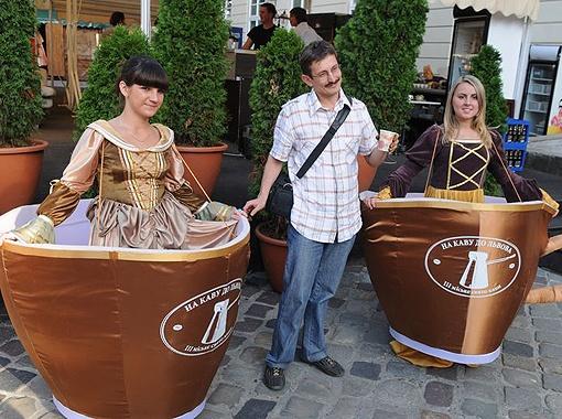 Отведать лучшие сорта кофе все желающие смогут на площади Рынок во Львове.