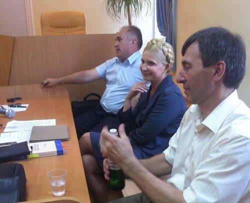 Юлия Тимошенко на заседании в Печерском суде. Фото УНИАН.