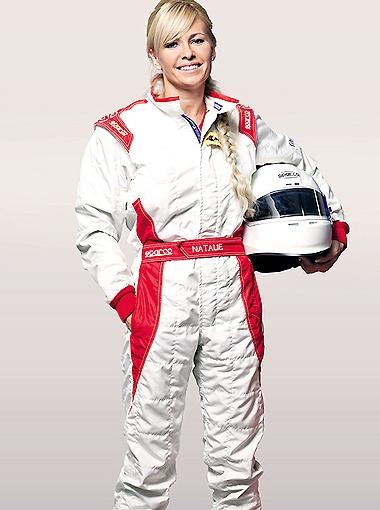 Наталья Фрейдина – пилот команды MERITUS GP. Фото mosracing.ru.