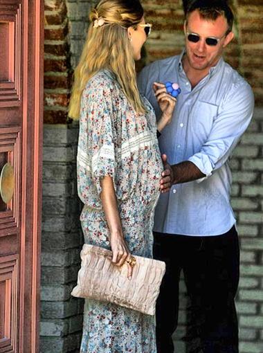 Ричи очень ждал появления на свет малыша. Фото DailyMail.