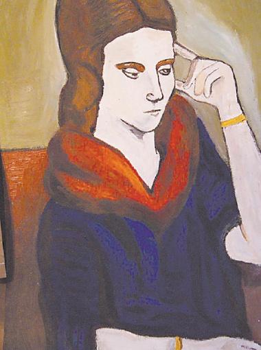 Портрет Ольги Хохловой (Ольги Пикассо), 1923 год.