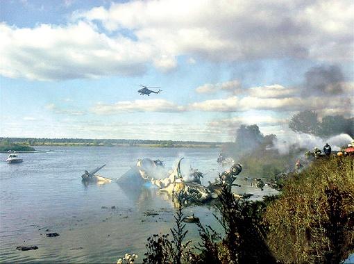 На борту разбившегося под Ярославлем самолета могло быть трое украинцев.