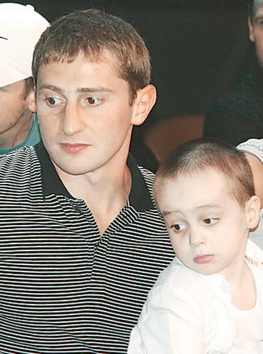 Сыну Степана Черновецкого Ленечке скоро исполнится 5 лет.