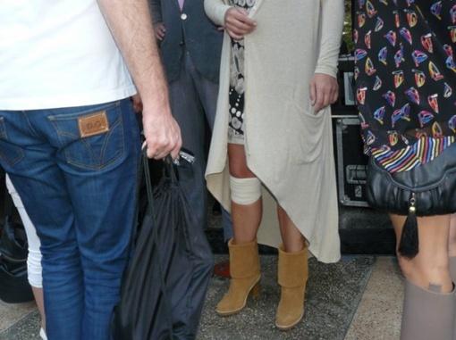 Могилевская травмировалась. Фото  сайта ТСН.